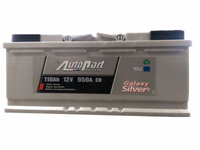 AUTO PART GALAXY SILVER  110Ah-950A